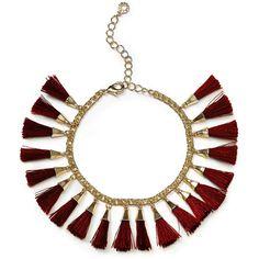 BAUBLEBAR Threaded Tassel Bracelet (730 UAH) ❤ liked on Polyvore featuring jewelry, bracelets, 14k bangle, 14k bracelet, tassel bracelet, 14k jewelry and bracelet jewelry