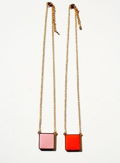 Not So Square Necklace by 1929Galore