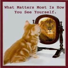How you see yourself