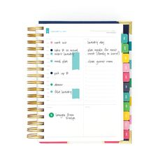 Simplifying your Routine with the Simplified Planner.    Daily Simplified Planner, Daily Agenda, Daily Planner, 2018 Planner, To Do, Schedule, Meals, Notes, Planner Accessories, Planner Stickers