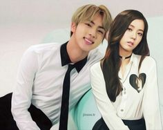 Blackpink And Bts, Bts Jin, Couple Goals, Ships, Kpop, Couples, Daughter, Boats, Couple