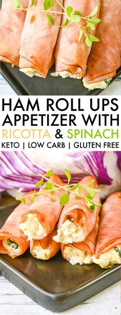 These low carb / keto ham roll ups are a gluten free keto friendly appetizer recipe you can whip up in less than 30 minutes. low carb / keto ham roll ups are a gluten free keto friendly appetizer recipe you can whip up in less than 30 minutes. Low Carb Recipes, Diet Recipes, Healthy Recipes, Roll Ups Recipes, Lunch Recipes, Ketogenic Recipes, Easy Low Carb Meals, Smoothie Recipes, Ketogenic Diet