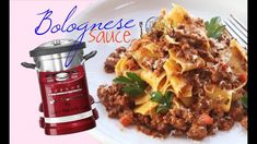KitchenAid cook processor ARTISAN - Bolognese Sauce BOLOGNAISE Sauce recipe FIRST TRY like THERMOMIX - YouTube