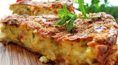 ΜΑΝΙΤΑΡΟΠΙΤΑ ΧΩΡΙΣ ΦΥΛΛΟ Υλικά (για 7-8 άτομα):  1 κεσεδάκι γιαούρτι στραγγιστό 1 κιλό μανιτάρια φρέσκα κομμένα φέτες 4 αβγά 300 γρ. γραβιέρα σε κυβάκια ή άλλο σκληρό τυρί 4 κουτ. αλεύρι αλάτι, πιπέρι λίγο λάδι για το άλειμμα... Greek Recipes, Veggie Recipes, Dessert Recipes, Easy Recipes, Fast Dinners, Easy Meals, Kitchen Recipes, Cooking Recipes, Quiche