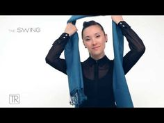 How to wear pashmina - Tie Rack Edition - YouTube