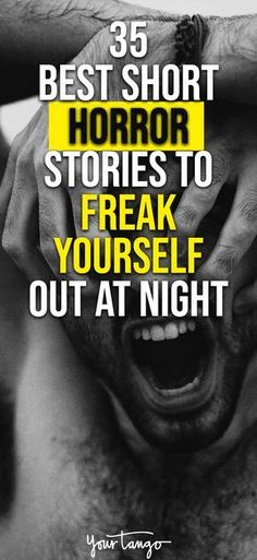 Love to get your scare on? With this list of the best horror short stories, you won't be able to turn the lights off or be alone ever again. These short horror stories may not be as long as a novel, but they sure do creep you out. Short Stories To Read, Short Creepy Stories, Scary Stories To Tell, Happy Stories, Horror Fiction, Horror Books, Horror Movies, Fiction Stories, English