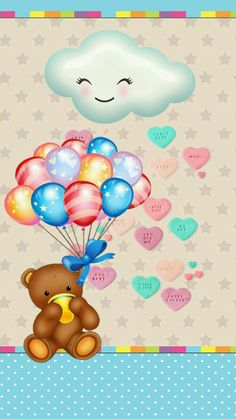 Bling Wallpaper, Bear Wallpaper, Animal Wallpaper, Love Wallpaper, Colorful Wallpaper, Wallpaper Backgrounds, Wallpaper Ideas, Holi Party, Birthday Wallpaper