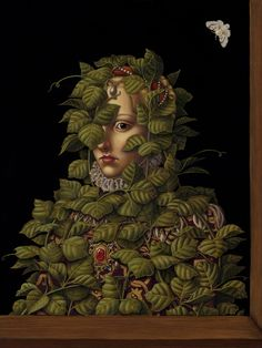 Madeline von Foerster - Invasive Species II , 2008 Oil and egg tempera on panel