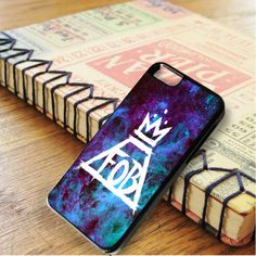 Fall Out Boy Logo Galaxy iPhone 6|iPhone 6S Case