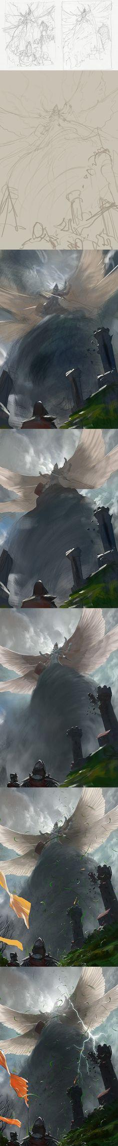Rift Colossus - Steps by *algenpfleger on deviantART