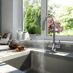 Some Like It Hot! Choosing a boiling or steaming hot water tap.