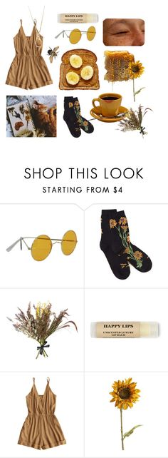 """Summer Snack"" by arosecoloredworld998 ❤ liked on Polyvore featuring Abigail Ahern and Pier 1 Imports"