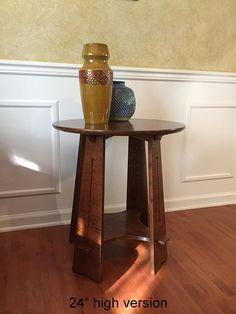 Beautiful Craftsman Round table