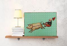 Kinderzimmer Dekoration von Atelier Art-istique auf DaWanda.com