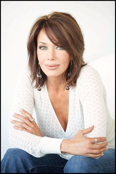 Hunter Tylo - don't click on the link, but i love her hair