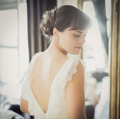 2014 Wedding Trends | Dramatic Backs | Deep-V Bridal Gown | Intimate Iceland Wedding: Kathleen + Steven