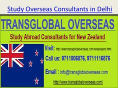Study overseas consultants in Delhi  Concentrate Abroad with low upkeep work rights, appropriate climate conditions and Australia being a neigh boring nation, New Zealand has been seen as the most fervid study destination for understudies anticipated that would get think abroad. Overseas Education Consultants have been found not giving proper Information to the understudies going by them for inciting and this is the reason; New Zealand visa degree has declined from 80% to 60%. Trans Global…