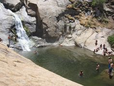 Three Sisters Falls: Scenic hiking trail to waterfalls and swimming. One of the top hiking trails in San Diego County. Warning: very strenuous! Hiking Spots, Camping And Hiking, Hiking Trails, Backpacking, Oregon Hiking, Camping Tips, San Diego Hiking, San Diego Travel, Places To Travel