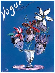 vintage everyday: Wonderful Vogue Covers of the 1930s. http://www.vintag.es/2014/08/wonderful-vogue-covers-of-the1930s.html