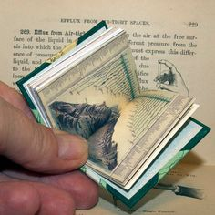 Miniature Antique Comparative Maps of the World by madebyjoy