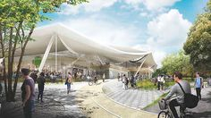 La nuova sede Google: flessibile e sostenibile #energYnnovation #terra