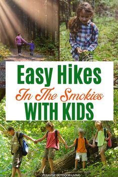 The Great Smoky Mountains National Park offers a week's worth of hiking families. In this guide to Smoky Mountains hikes are some of the best hikes in Gatlinburg for kids. Smoky Mountain Trails, Smoky Mountains Hiking, Smoky Mountain National Park, Mountain Hiking, Great Smoky Mountains, Appalachian Mountains, Smokey Mountain, Gatlinburg Trails, Gatlinburg Tennessee Restaurants