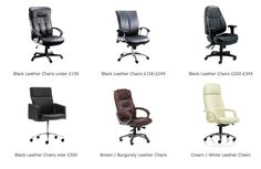 Leather office seating....  #leatherofficechair