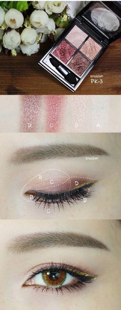 Korean eye shadow