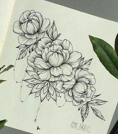 Bildergebnis für tatuaje peonia