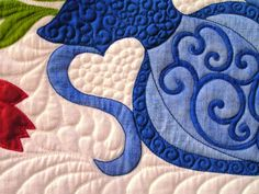 The art beauty of stencil quilts