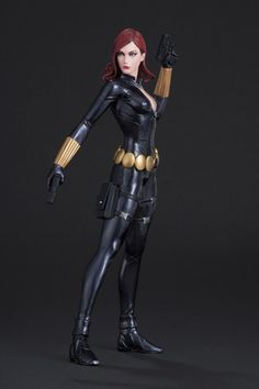 Avengers Marvel Now! Black Widow 1/10 Scale ArtFX+ Statue on Crunchyroll