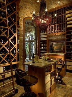 home bar room designs | wine cellars, tasting room and stone walls