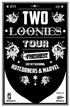 #RVCA presents #Kutkorners & Marvel aka The Freshest who will perform their live set across Canada. Stay tuned for dates!