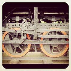 #taiwan 緣道觀音廟裡收藏的台糖古董火車