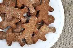 Paleo Spicy Gingerbread Cookies
