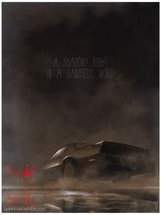 Knight Rider by Nicolas Bannister