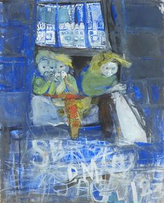 Joan Eardley, Three Children at a Glasgow Tenement Window, 1961 Gorbals Glasgow, Galerie D'art Moderne, Gallery Of Modern Art, Art Station, Photos, Pictures, Oeuvre D'art, Figurative Art, Traditional Art