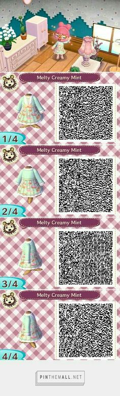 A wide choice of qr codes for Animal Crossing New Leaf and Happy Home Designer Animal Crossing 3ds, Animal Crossing Qr Codes Clothes, Acnl Art, Hairband, Motif Acnl, Floral Tops, Ac New Leaf, Blue Denim Skirt, Blue Jeans