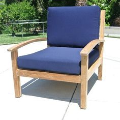 Willow Creek Designs Outdoor Sunbrella Lounge Chair Cushion Fabric: Tuscan