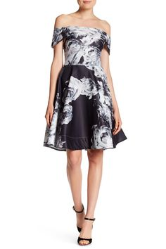 Sound of Silence Fit-and-Flare Dress