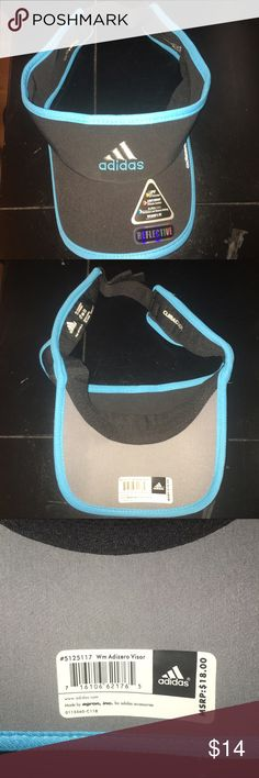 New Authentic Adidas Climate cool Visor This is a new never worn adidas visor that has the original tag. It is a climate cool visor and is very stylish as well as very useful. Adidas Accessories Hats