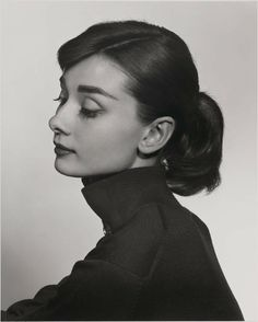 Audrey Hepburn photographed by Yousuf Karsh. Beautiful.