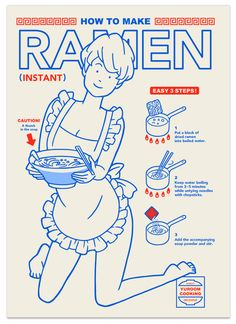 Hoe to make ramen