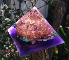 Orgonite Pyramid Earth Healing Orgone Energy Generator