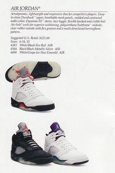 Nike Air Jordan V Original 1990 Jordan V, Jordan Retro, Sneakers Box, Sneakers Nike, Michael Jordan Pictures, Nike Ad, Air Jordan Shoes, Vintage Nike, Sneakers Fashion