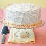 Coconut Triple-Layer Cake Recipe | MyRecipes.com