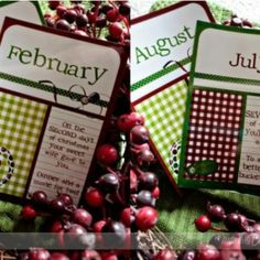 12 Dates of Christmas Gift {Free Printables} ~ http://www.tipjunkie.com/post/12-dates-of-christmas-gift-free-printables/