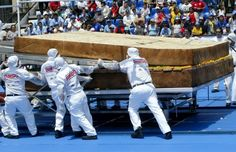 Largest Sandwich In The World Weighing 6991 Pounds