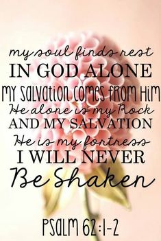 Ps. 62:1-2