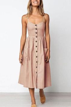 Find your own Style Vee Boho Midi Kleider # Kleider Why are People Buying Shoes Online? Boho Midi Dress, Dress Skirt, Dress Up, Midi Dresses, Flower Dresses, Waist Skirt, Casual Midi Dress, Midi Dress Outfit, Pink Midi Dress